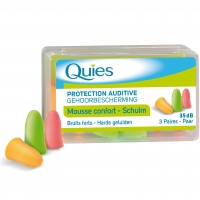 QUIES Protection Auditive Mousse Confort Couleur
