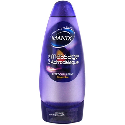 MANIX Gel de Massage Aphrodisiaque 200ml