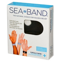 SEA BAND Bracelet Anti-nausées Adulte Noir