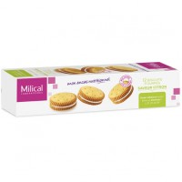 MILICAL Biscuits Fourrés Citron x12