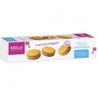 MILICAL Biscuits Fourrés Vanille x12