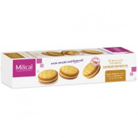 MILICAL Biscuits Fourrés Noisette x12