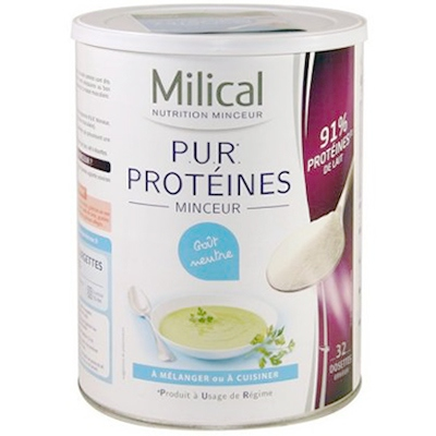 MILICAL PUR PROTEINES - 400 G