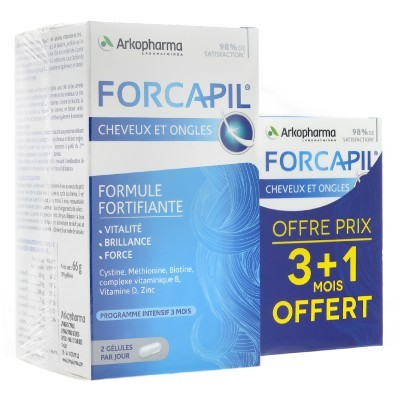 ARKOPHARMA Forcapil - 180 Capsules + 60 OFFERTES