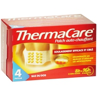 THERMACARE Patch Chauffant Bas du Dos x4