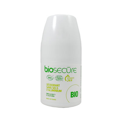BIO SECURE Déodorant Sans Sels d'Aluminium Roll-on 50ml