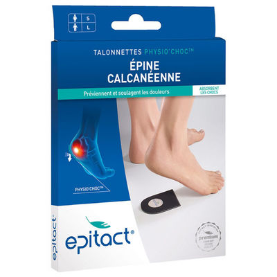 EPITACT Talonnettes Physio Choc Taille L