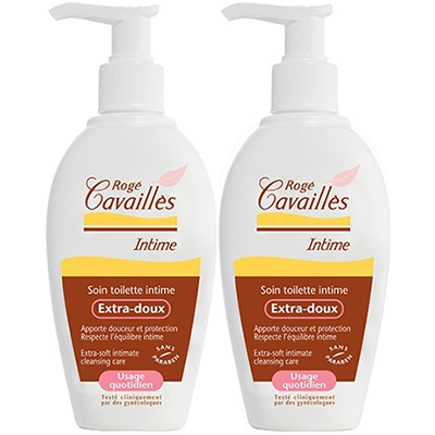 ROGE CAVAILLES Soin Toilette Intime Extra-doux - 2x200ml