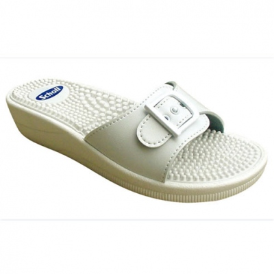 SCHOLL Fitness Massage Blanc 41