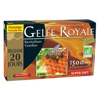 SUPER DIET GELEE ROYALE - 20 AMPOULES