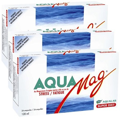 SUPERDIET Aquamag - Lot de 3
