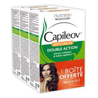 NUTREOV CAPILEOV Anti-chute Lot de 3
