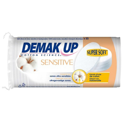 DEMAK UP SENSITIVE Cotons à Démaquiller