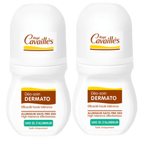 ROGE CAVAILLES Déo-soin Dermato Roll-on - Lot de 2 x 50ml