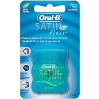 ORAL-B Fil Dentaire Satin/Menthe