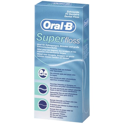 ORAL B Fil Dentaire Super Floss