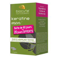 BIOCYTE Keratine Men - Lot de 3