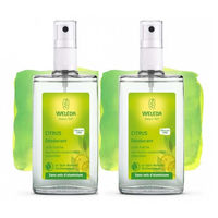 WELEDA Déodorant au Citrus - Lot de 2 x 100ml