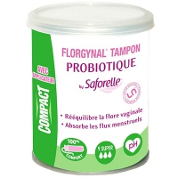FLORGYNA Tampon Compact Super - 9 Tampons