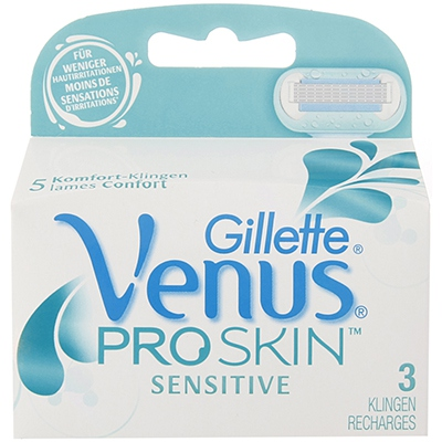 GILLETTE VENUS PROSKIN SENSITIVE Recharges