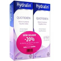 HYDRALIN Quotidien Gel Lavant - 2x200ml