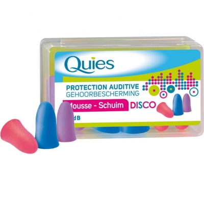 QUIES Protection Auditive Mousse Disco