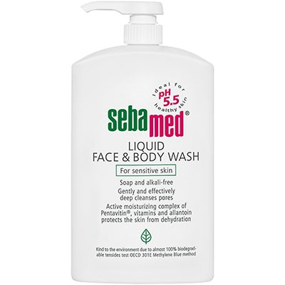 SEBAMED Face & Body Wash - 400ml