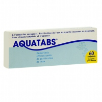 AQUATABS - 60 comprimés effervescents