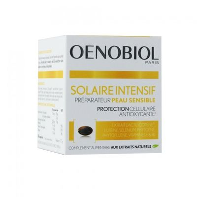 OENOBIOL Solaire Intensif Nutriprotection - 30 capsules