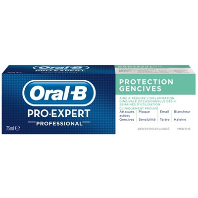 ORAL-B Pro-Expert Professionnal Protection Gencives