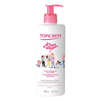 TOPICREM Ultra-hydratant Lait Corps - 500 ml