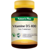 NATURE'S PLUS Vitamine D3 400