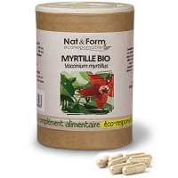 NAT & FORM ECO Myrtille Bio - 90 gélules