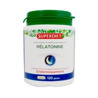 SUPERDIET Mélatonine - 120 gélules
