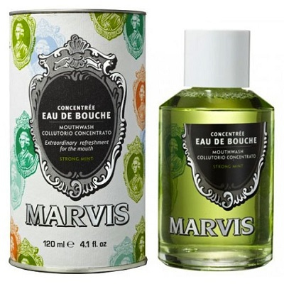 MARVIS EAU DE BOUCHE STRONG MINT