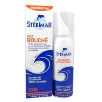 STERIMAR Nez Bouché Adulte Spray Nasal Hypertonique 50ml