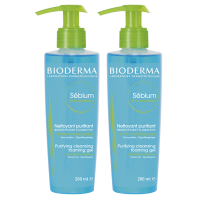 BIODERMA Sébium Moussant - Lot de 2