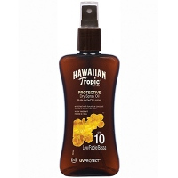 HAWAIIAN TROPIC Spray Huile Sèche SPF10 - 200 ml