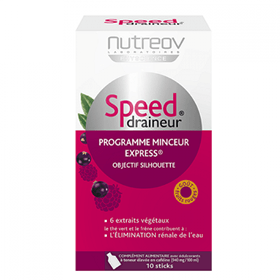 NUTREOV Speed Draineur Stick Fruits Rouges