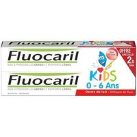 FLUOCARIL Kids 0-6ans Gel Dentifrice Fraise Lot de 2x50ml