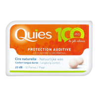 QUIES Protection auditive Cire x12
