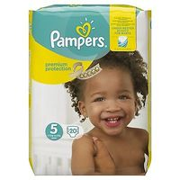 PAMPERS Premium Protection 11-23kg Taille 5 - 20 couches