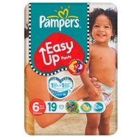 PAMPERS Easy Up Pants +16kg Taille 6 - 19 culottes