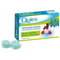 QUIES Protection Auditive Silicone Natation Enfant