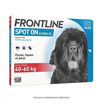 FRONTLINE Spot-on Chien 40-60 kg
