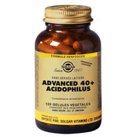 SOLGAR Advanced 40+ Acidophilus 120 gélules