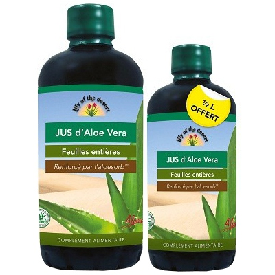 LILY OF THE DESERT Jus d'Aloe Vera - PROMO