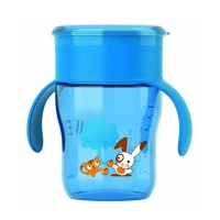 AVENT Tasse d'apprentissage 260ml Bleu