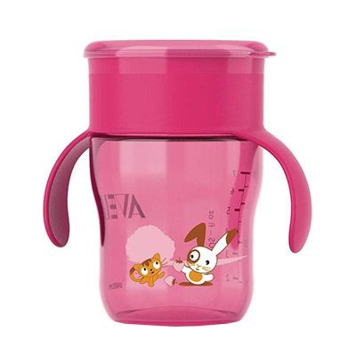 AVENT Tasse d'apprentissage 260ml Rose
