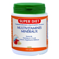 SUPER DIET Multivitamines Minéraux